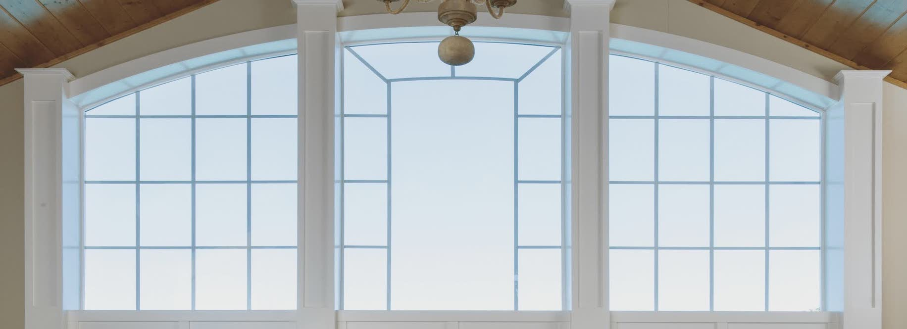 large open window