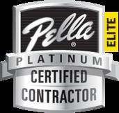 Pella Platinum Certified Contractor Logo