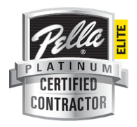 Pella Platinum Certified Contractor Logo