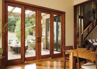 Pella Wood French Door Tall