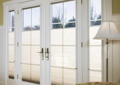 Pella Wood French Door with Sidelites